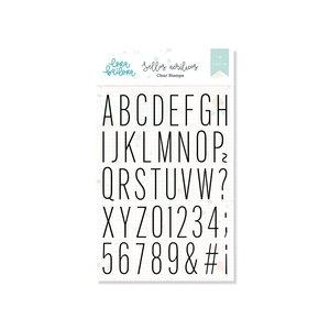 Set de sellos Lora Bailora ALFABETO THIN