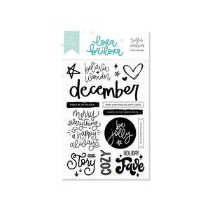 Set de sellos Lora Bailora DECEMBER DOCUMENTED