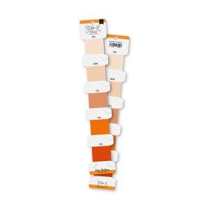 Set de hilos de bordar Lora Bailora Naranja