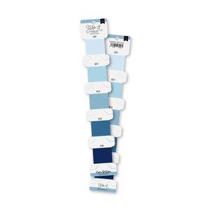 Set de hilos de bordar Lora Bailora Azul cielo