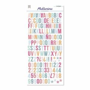 Alfabeto Mediterráneo de Lora Bailora