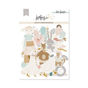Die cuts Ilustraciones Baby M de Lora Bailora