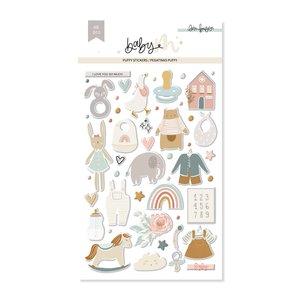 Pegatinas puffy Ilustraciones Baby M de Lora Bailora