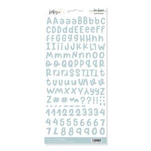 Alfabeto básico Nube Baby M de Lora Bailora