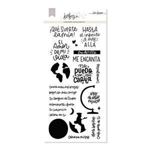 Set de sellos Mi mundo Baby M de Lora Bailora