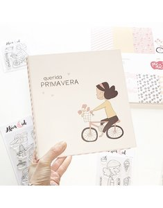 "Álbum 6""x8"" Alua Cid Picnic Querida Primavera"
