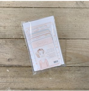Set de tarjetas para PL Toffee