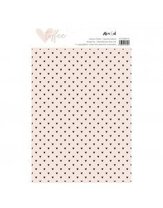 "Carpeta de embossing 6""x8"" Toffee"