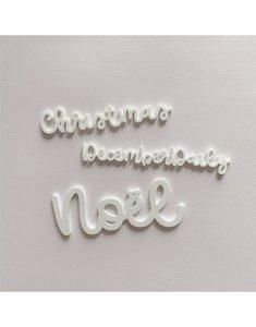 Palabra de metacrilato Alúa Cid Noel