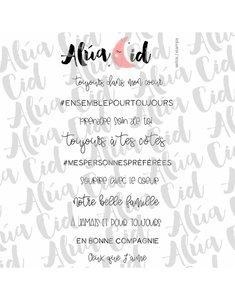 Sello Alúa Cid Francés Moments en famille