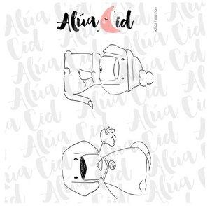 Mini sello Tío Arvin de Alúa Cid