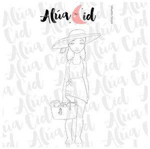 Mini sello Junio de Alúa Cid