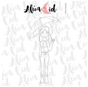 Mini sello Noviembre de Alúa Cid