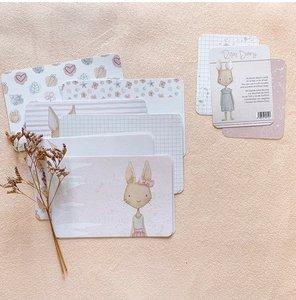 Set de tarjetas para PL Carrotcake de Alúa Cid