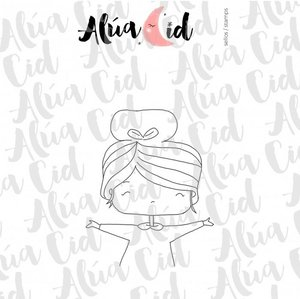 Mini sello Holi ARI de Alúa Cid