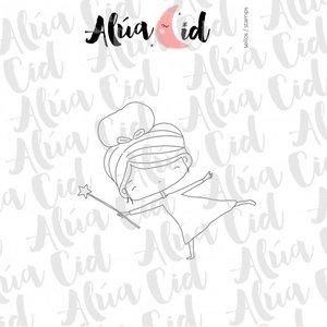 Mini sello magia ARI de Alúa Cid