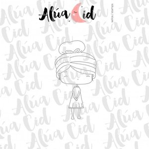 Mini sello Pequeña ARI de Alúa Cid