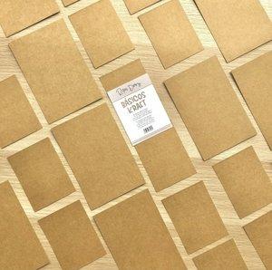 Pack de tarjetas para PL básicas Kraft