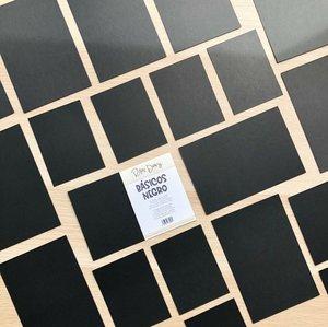 Pack de tarjetas para PL básicas Negro