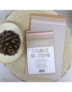 Set de tarjetas PL colores sólidos Golpiño de Alúa Cid