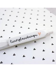 Bolígrafo living la vida cuqui