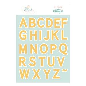 Troquel Alfabeto