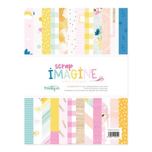 "Pad papeles 6""x8"" Imagine"