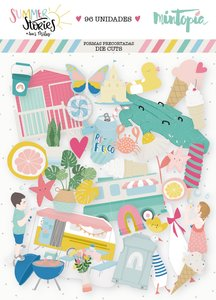 Die Cuts Ilustraciones Summer Stories