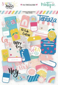 Die Cuts Tags y Bolsillos Summer Stories