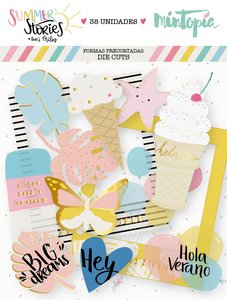 Die Cuts de Vellum Summer Stories
