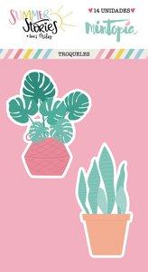 Troqueles Plantas de Verano Summer Stories