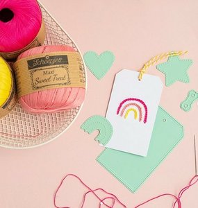 Troqueles Tag con Cosidos Summer Stories