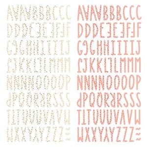 Alfabeto chipboard Muérdago de Mintopía