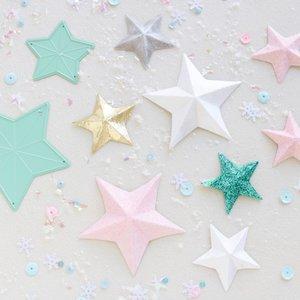 Troquel Estrellas 3D Muérdago de Mintopía