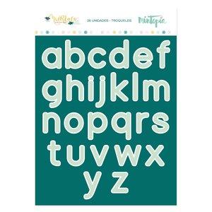 Troquel Alfabeto Muérdago de Mintopía