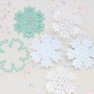 Troquel Copo de nieve doble capa Muérdago de Mintopía