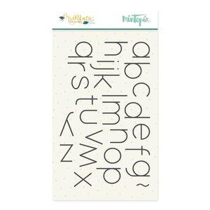 Sello Alfabeto Muérdago de Mintopía