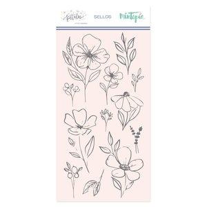 Sello Mintopía Pétalos Flores grandes