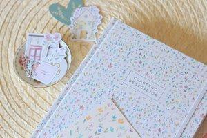 Cuaderno de Bullet Journal Mini flores de acuarela