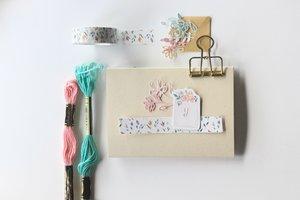 Washi Tape Flores de acuarela Pétalos by Little Hannah