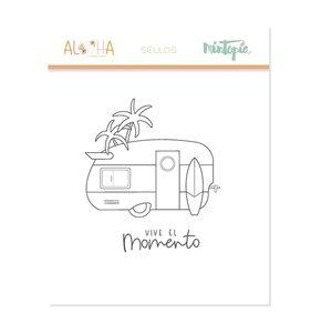 Sello Mintopía Aloha Caravana
