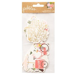 Die cuts ilustraciones Lovely Moments