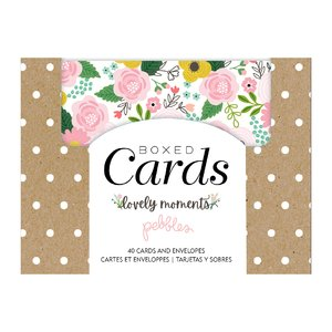 Set de tarjetas y sobres Lovely Moments