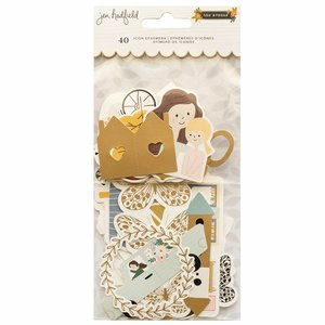 Die Cuts con foil The Avenue by Jen Hadfield
