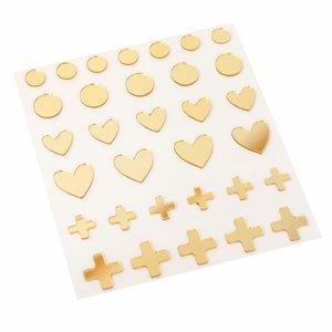 Pegatinas acrílicas Peaceful Heart de Jen Hadfield