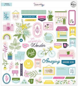 Die cuts Pinkfresh Noteworthy