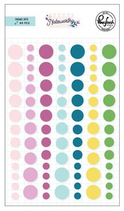 Enamel dots Pinkfresh Noteworthy