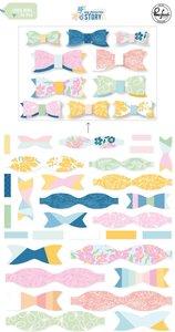 Lazos de tela Pinkfresh My favorite story
