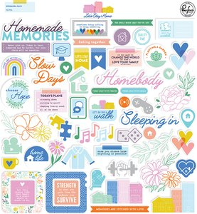 Die Cuts Let's Stay Home de PinkFresh