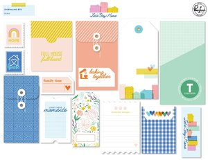 Journaling Bits Let's Stay Home de PinkFresh